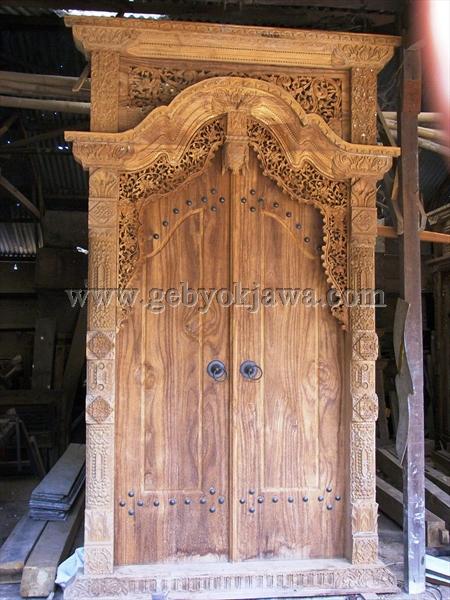 Gambar Gebyok Pintu GP 205