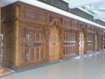 Gebyok Masjid Langsung di Ukir di Jepara GM 353