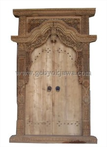 Pintu Gebyok Jati Mentahan GP 245