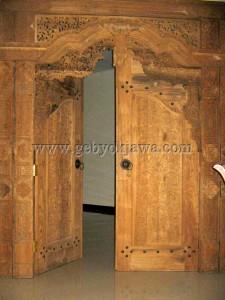 Pintu Gebyok Jawa Jepara GP 253