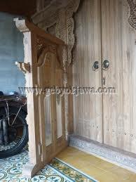 Produsen Pintu Gebyok Jati Ukir GP 273