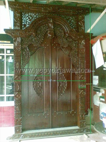 Pintu Gebyok Jepara Jati Modern GP 219